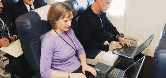 Vuelos comerciales contarán con internet inalámbrico de alta velocidad