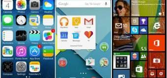 iOS, Android o Windows Phone, ¿cuál es mejor?