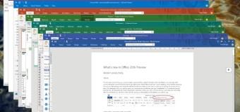 Microsoft presentó el nuevo Office 2016