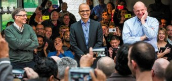 Un repaso por el primer año de Satya Nadella al mando de Microsoft