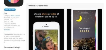 Slingshot: intercambie fotos y videos que se autodestruyen en Facebook