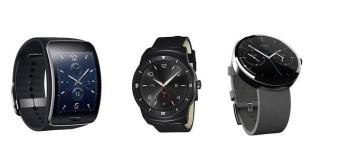 Lo nuevo en «smartwatches»: La batalla entre Gear S, Moto 360 y el G Watch R